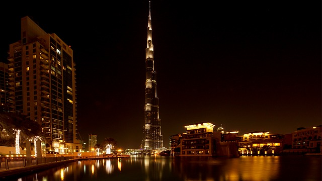 Dubai à noite