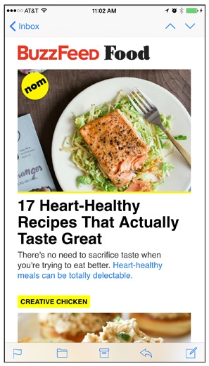Buzzfeed Newsletter